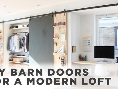 DIY Barn Door |How to install barn door hardware