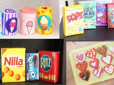 DIY| Miniature Doll Food