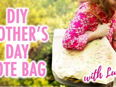DIY Mother's Day Tote Bag with Lulu! - HGTV Handmade