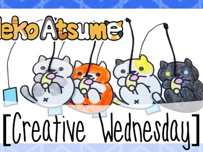 DIY NEKO ATSUME (MISTER MOUSE INSPIRED) BOOKMARKS! [CREATIVE WEDNESDAY]