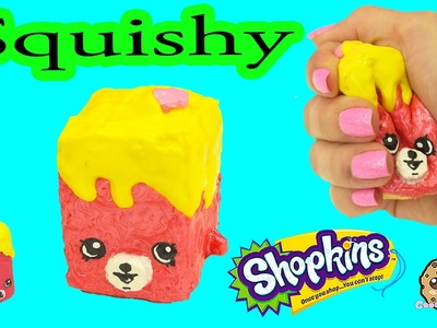 DIY Squishy Shopkins Season 5 Petkins Inspired Craft Do It Yourself - CookieSwirlC Video