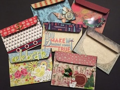 Dollar Tree Project with Manila Envelopes