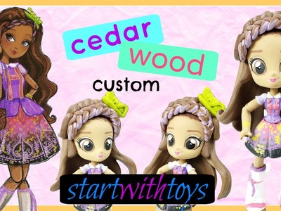 EAH Cedar Wood Custom My Littly Pony Equestria Girls Mini DIY Makeover   Start With Toys