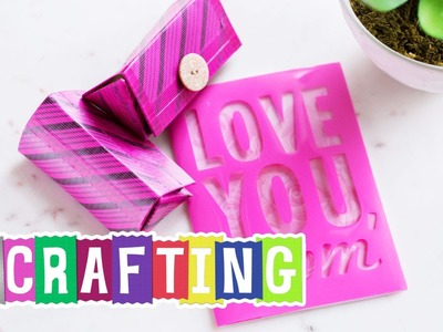 How to Craft a Duck Tape Transparent Tints® Gift Box