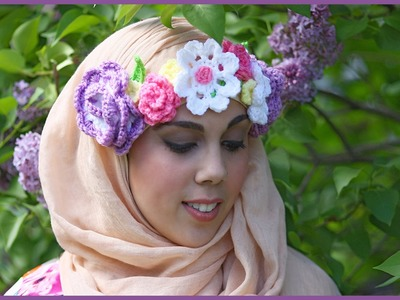 How to Crochet The Floral Dream Crown