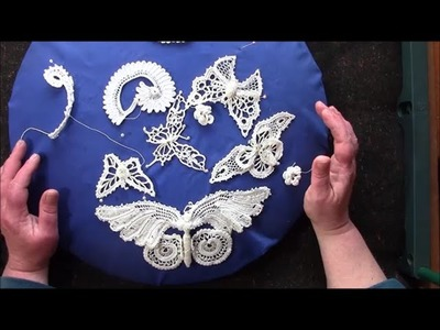 How to make a Lace Butterfly  Sun Catcher , Part 1