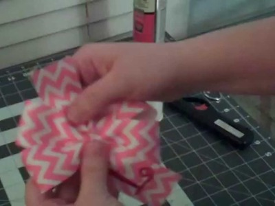How to Make Embroidered Grosgrain Bows - Embroider Grosgrain Ribbon - Hair Bows