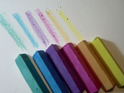 How to make home made SIDEWALK CHALKS with a TWIST - New Idea and tips by ART Tv