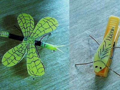 How to make Jumping Insect Toys for Kid
