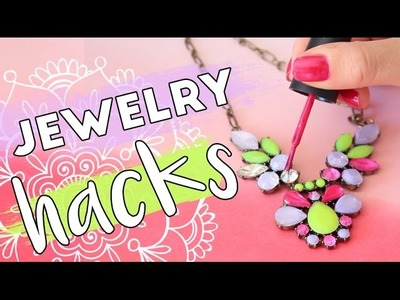 Jewelry Life Hacks | How to DIY, Store and Clean your Accessories