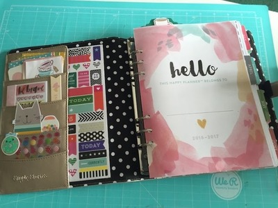Moved My Happy Planner Into A5 Carpe Diem Planner