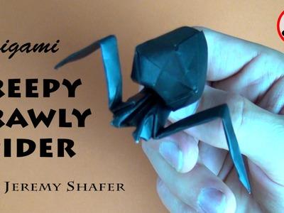 Origami Creepy Crawly Spider (no music)