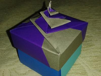 Origami: spiral box