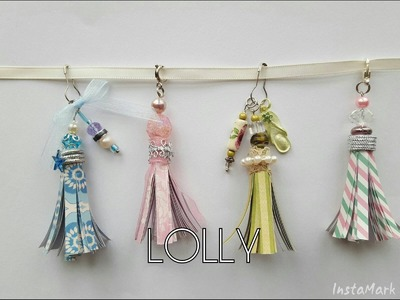 Paper Tassels Tutorial:  More Sturdy Method