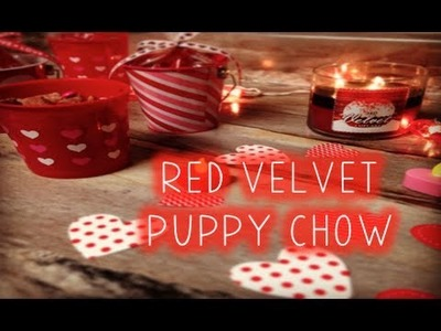 Pinned it! | red velvet puppy chow (new series!)