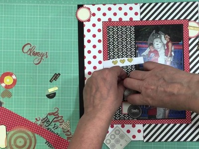 Scrap Your Heart Out - National Scrapbooking Day 2016 Youtube Hop