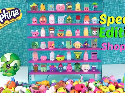 Shopkins Special Edition Collector Case Let's Decorate DIY Season 1 2 3 4 Mystery | PSToyReviews