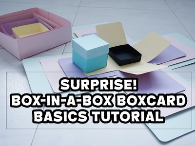 SURPRISE! Box-in-a-box Boxcard Basics Tutorial