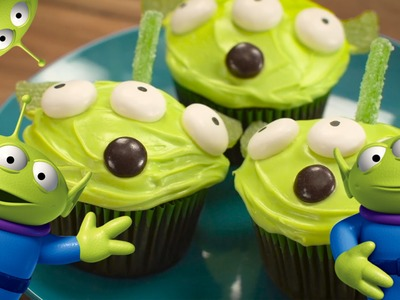 Toy Story Alien Cupcakes | Dishes by Disney