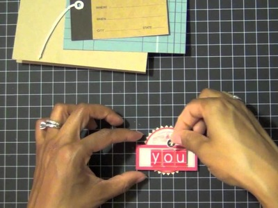 Ways to Use Cardstock Stickers + Tags on Cards