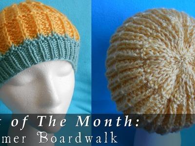 Hat of The Month | Jun. 2015 | Summer Boardwalk