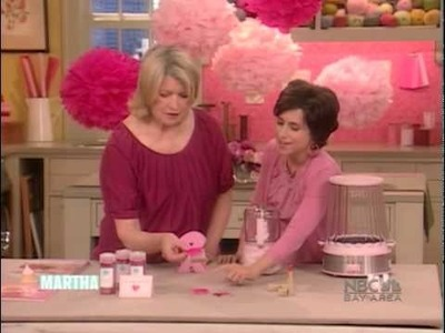Iomoi pink petito on MARTHA STEWART SHOW 3.9.2010