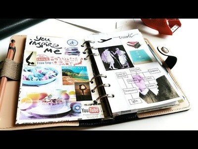 My DIY Filofax Vision Board