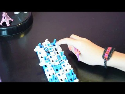 Rainbow loom tete de MORT PIRATE VAVA