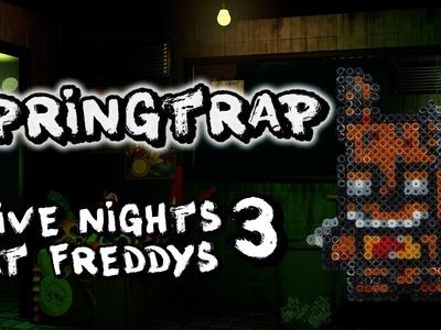 Springtrap FNAF3 - Hama Bead Tutorial