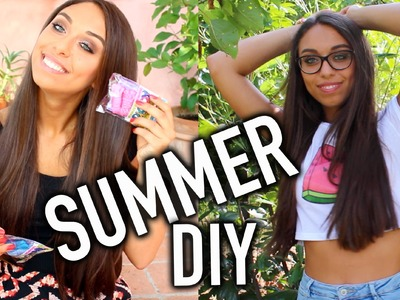 Summer DIY - Crop Top & Shokkybandz Koord