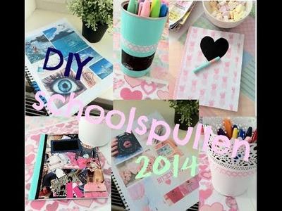Back to school: ♥  DIY schoolspullen ♥