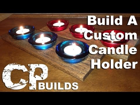 Craft Project : Make a Candle Holder in about 1 hour