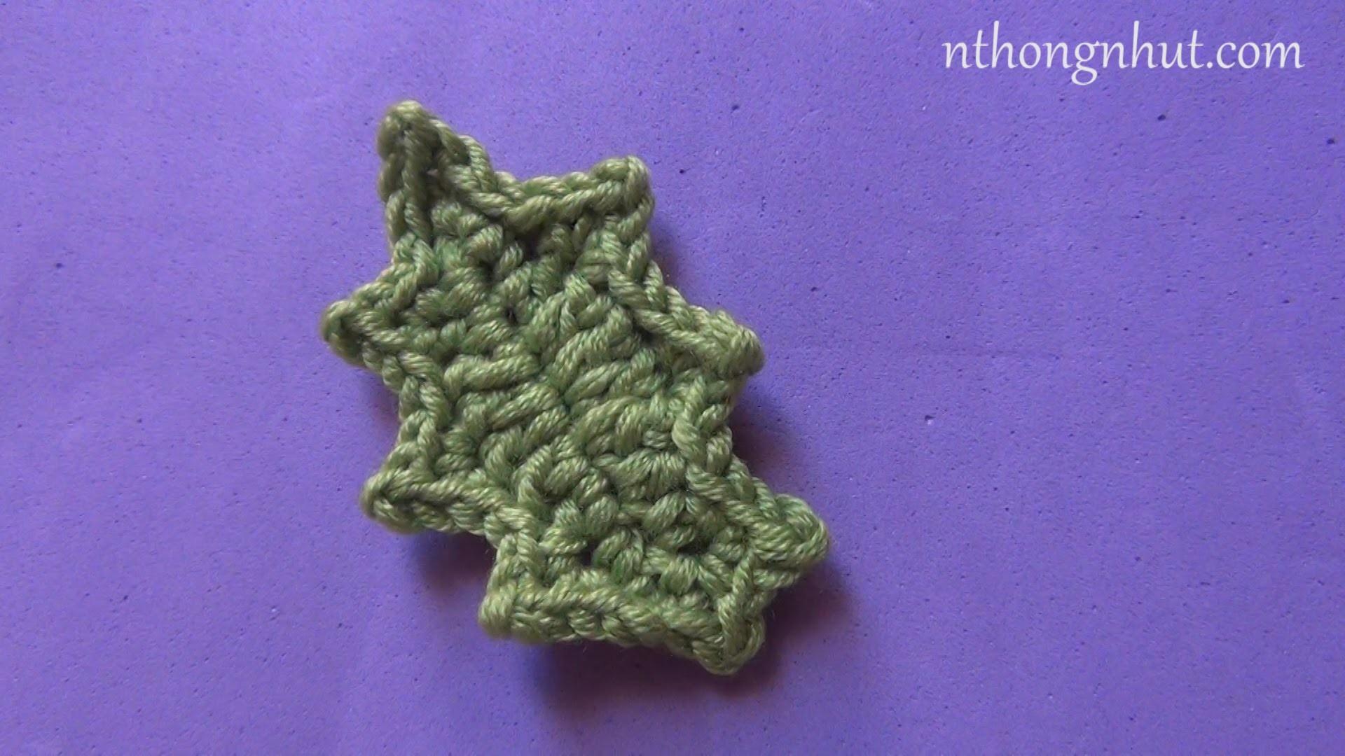 Crochet a Leaf - Pattern 2 (engsub)