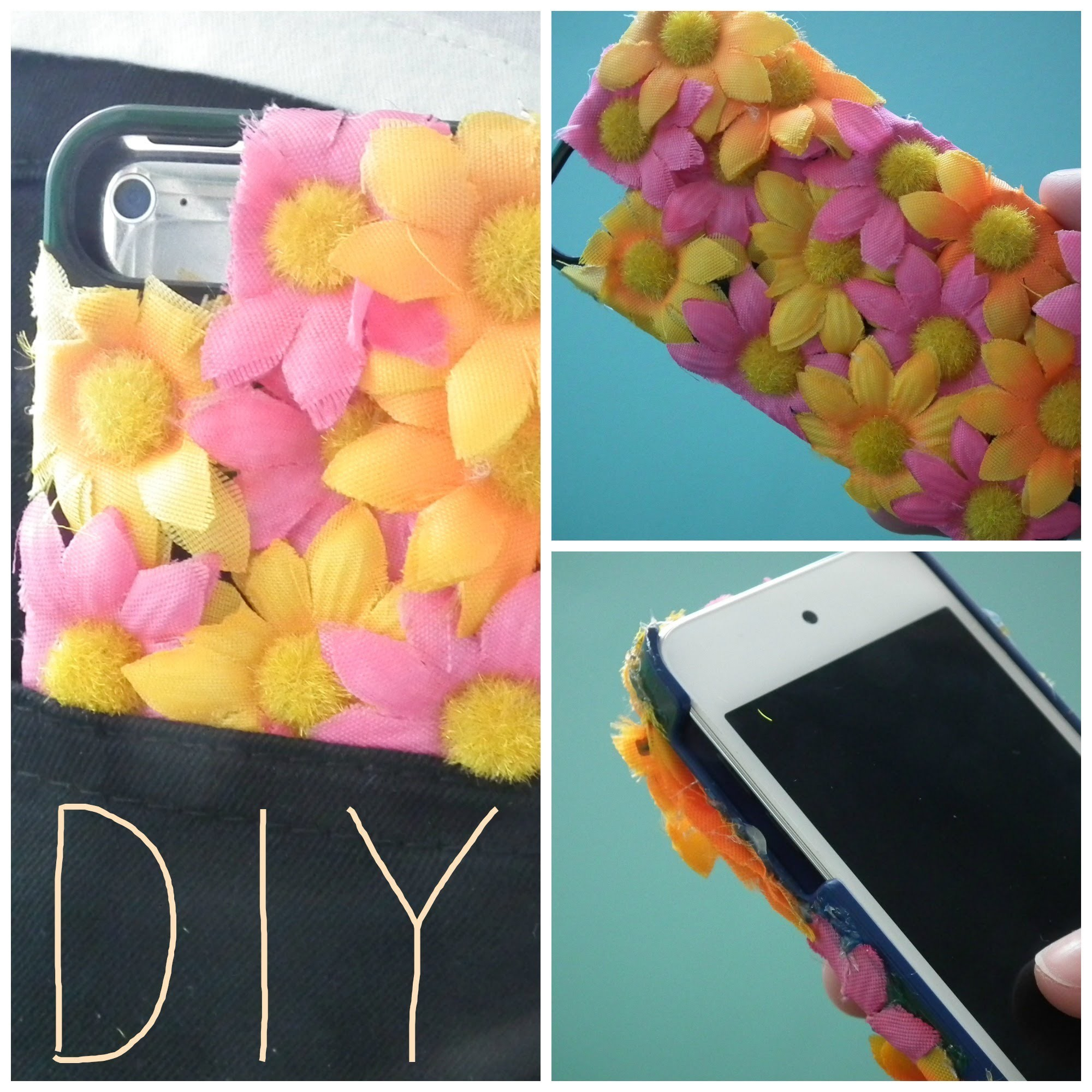 DIY: Floral Phone Case (Easy & Cheap)