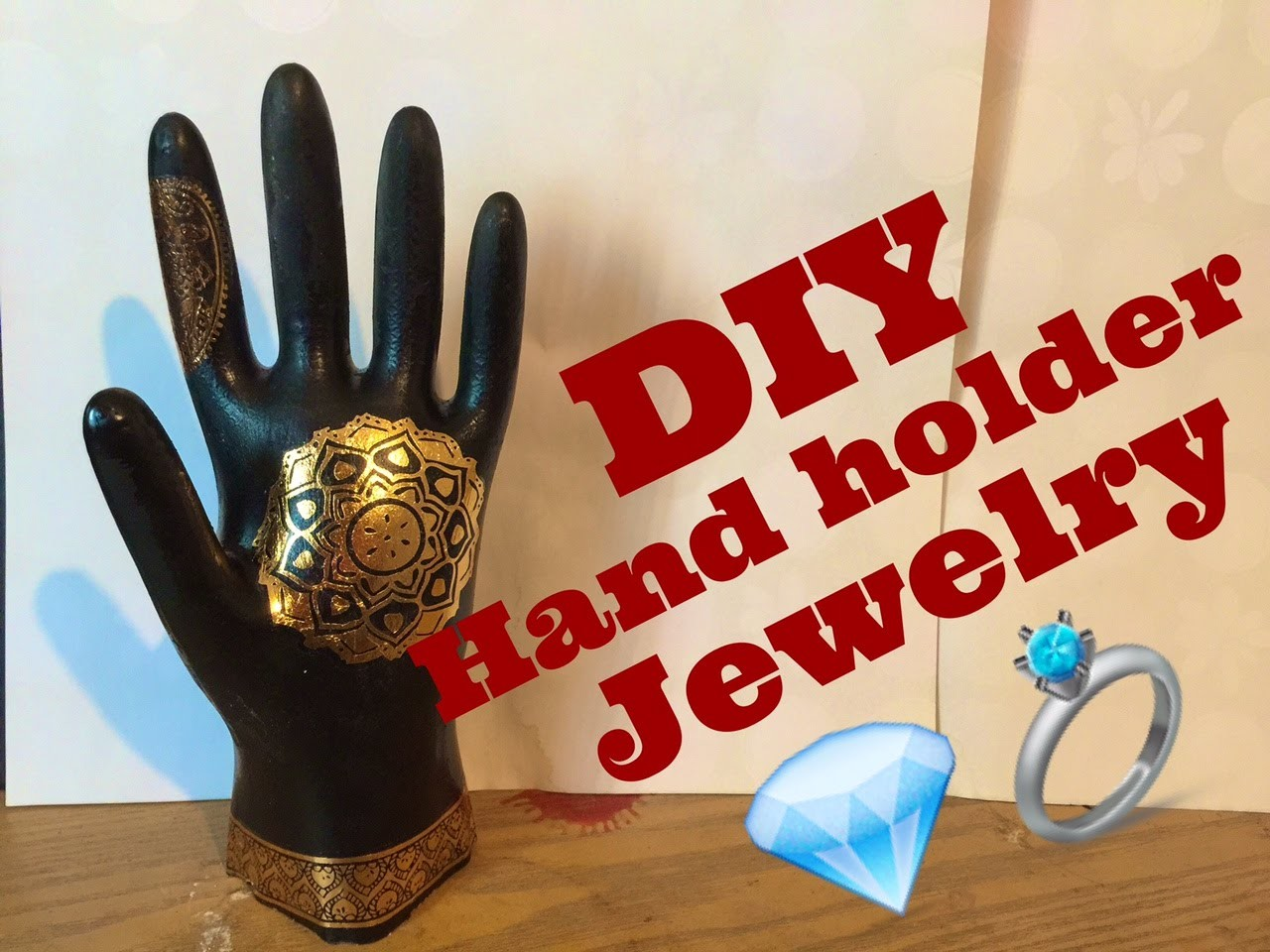 DIY Hand Holder Jewelry