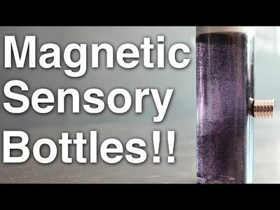 DIY Magnetic Sensory Bottle!! + Announcement!!