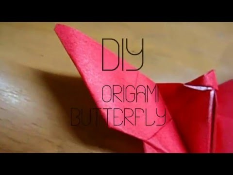 | DIY Origami Butterfly |