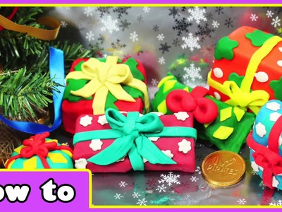 DIY Play Doh Christmas Surprise Eggs | DIY Christmas Gifts for Kids by HooplaKidz How To