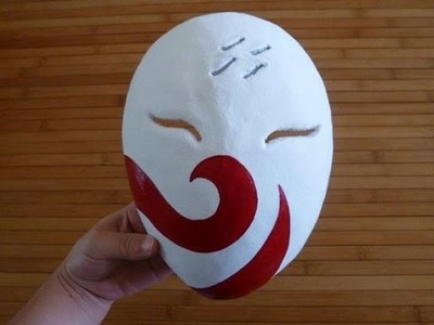 How I made my Haku Mask