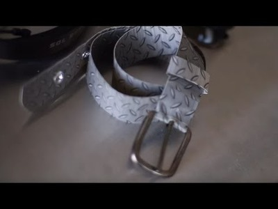 How to Craft a Duck Tape® Belt w. LaurDIY