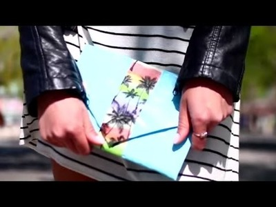 How to Craft a Duck Tape® Clutch w. LaurDIY