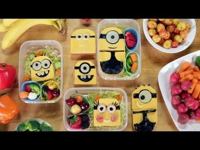 How to Make a Despicable Me Minions Bento Box With Feast of Fiction | Get the Dish