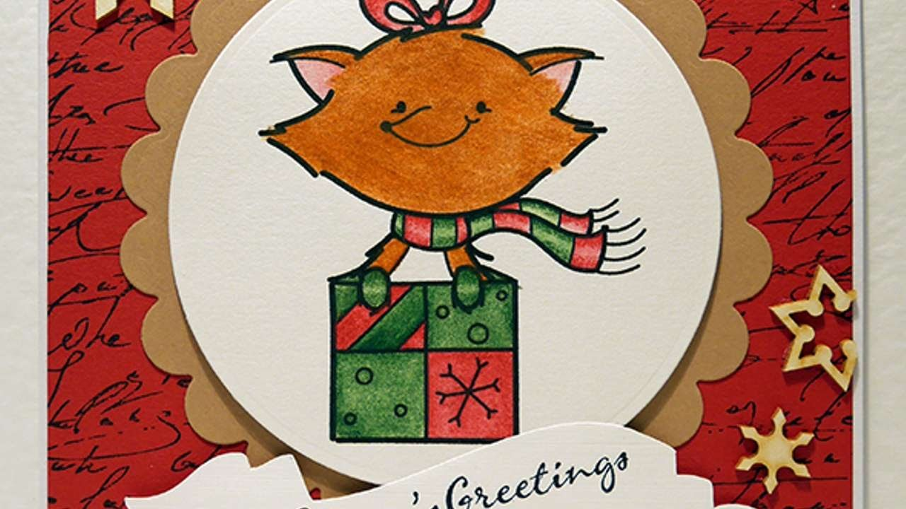 How To Make A Fun Festive Christmas Card - DIY Crafts Tutorial - Guidecentral