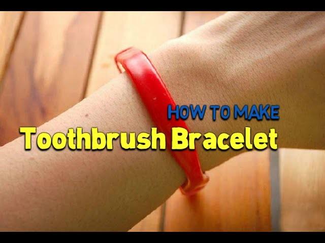 Make a Toothbrush Bracelet | Bracelet Tutorial