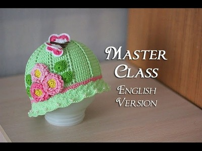 Master class on Baby Hat made by Crochet
