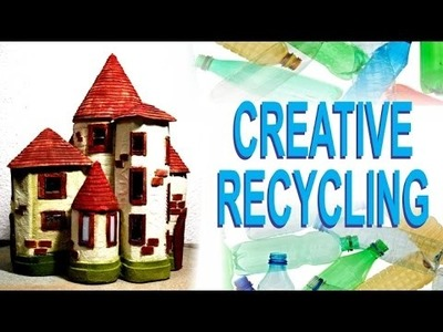 Plastic Bottles Recycling Craft Idea - DIY Fairy House