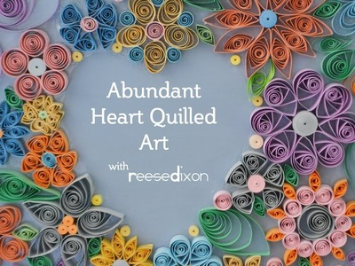 Quilling Art: you can make this!