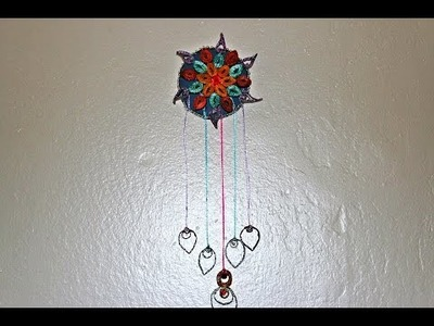Recycled: Wall Hanging Craft Made Out Of Waste Cardboard