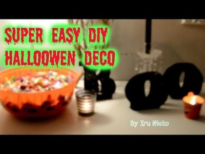 SUPER EASY DIY HALLOWEEN DECORATIONS ⎢IRU NIETO