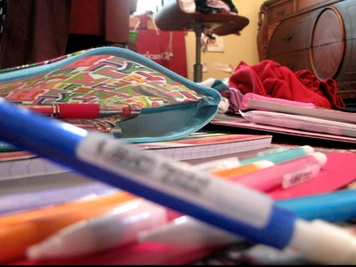 Back to School Supplies! (: